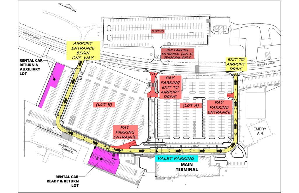Flughafen Chicago Plan